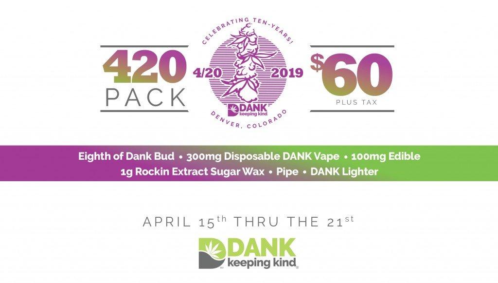 420 Specials at DANK