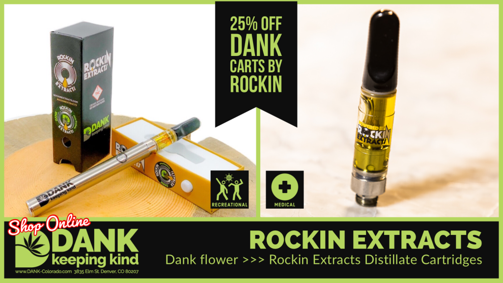 Dank Carts by Rockin Extracts