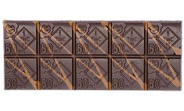 Incredibles Cannabis Infused Chocolate Bars at DANK Dispensary