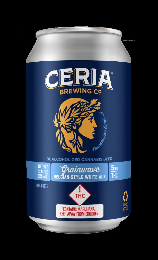 CERIA Brewing THC Beer at DANK Dispensary
