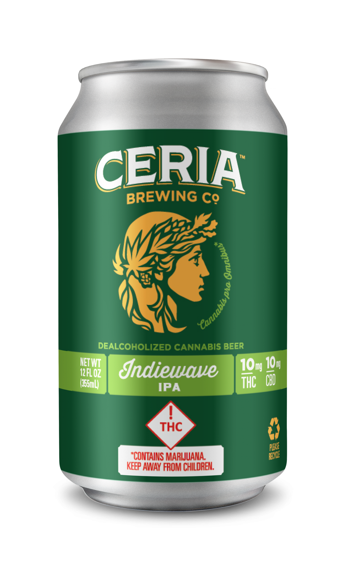 CERIA Brewing THC Beer at DANK Dispensary