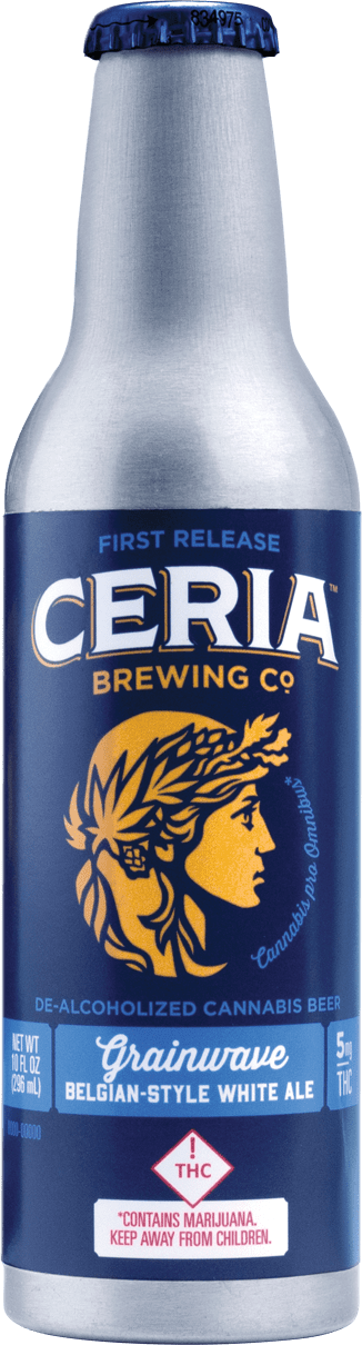 Ceria Brewing THC Infused Beer at DANK Dispensary