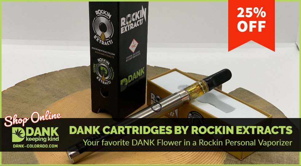 DANK BHO Cartridges by Rockin Extracts