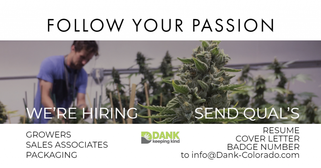 Dank Dispensary Help Wanted
