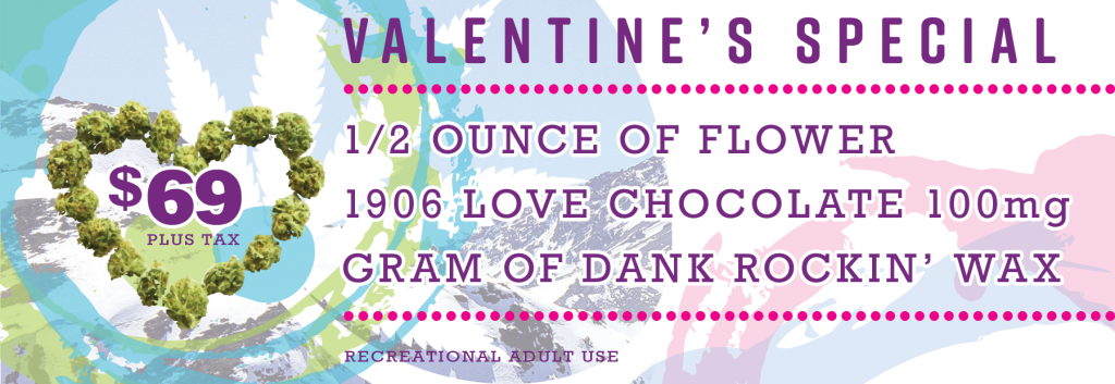 DANK Dispensary Valentine's Day Special Gift Pack in Denver