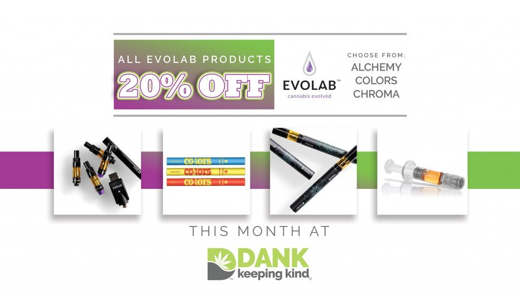 Evolab C02 Dispensary Specials at DANK