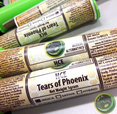 Healthy Creations Edibles Tears of Phoenix RSO at DANK